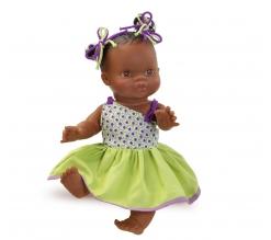 Paola Reina Baby pop Gordi, donker, 34cm