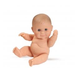 Paola Reina Peques pop. 21 cm, jongen, ongekleed, blauwe ogen