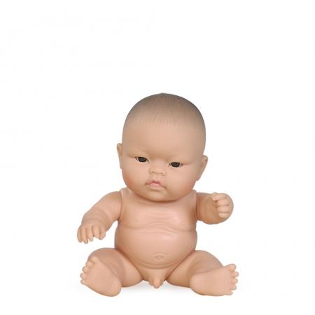 Paola Reina pop, Peques, jongen met aziatisch uiterlijk, 21 cm