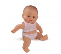 Babypop, meisje, met pyjama