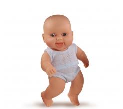 Puppegie, jongen in ondergoed (lachend), 22cm