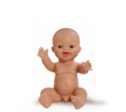 Paola Reina Babypop Bruno lachend 34cm