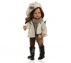 Paola Reina Pop Ashley, 42cm, winterkleding