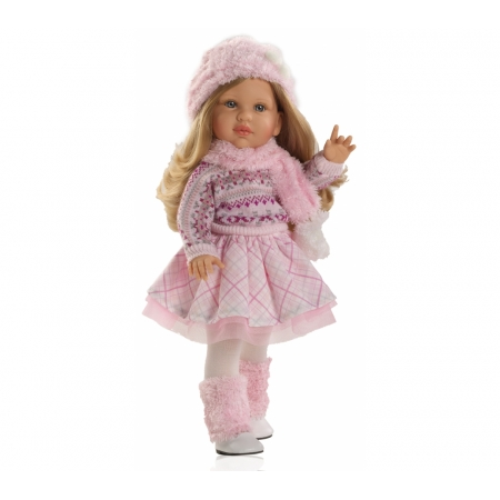 Kledingset, zonder schoenen,  Pop Audrey , 42cm winterkleding Paola Reina