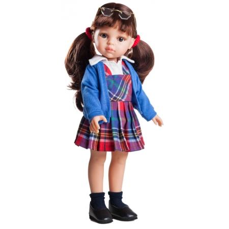 Paola Reina pop Carol schoolmeisje, 32cm