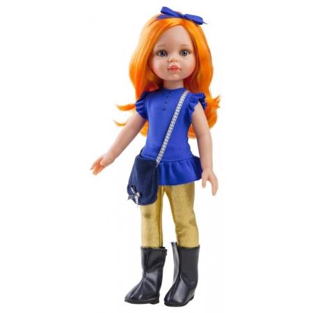 Paola Reina pop Amigas Carina oranje haar, 32 cm