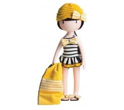 Kledingset Santoro,  32cm, Beach Belle, Paola Reina