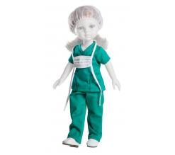 Kledingset, zonder schoenen, Paola Reina Pop Carla, Chirurg 32cm