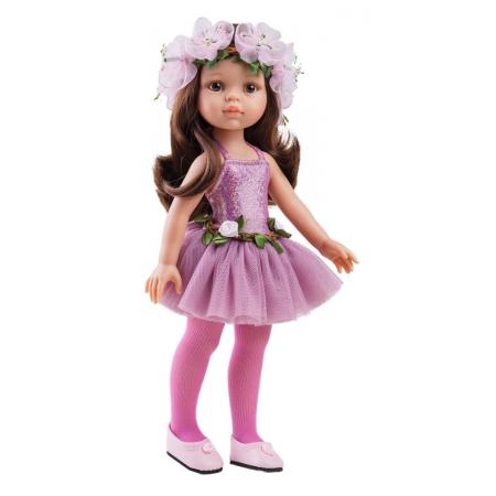 Kleingset, zonder schoenen, Paola Reina pop Amigas Carol ballerina, 32 cm