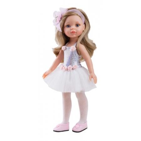 Kledingset, zonder schoenen, Paola Reina pop Amigas Carla ballerina, 32 cm